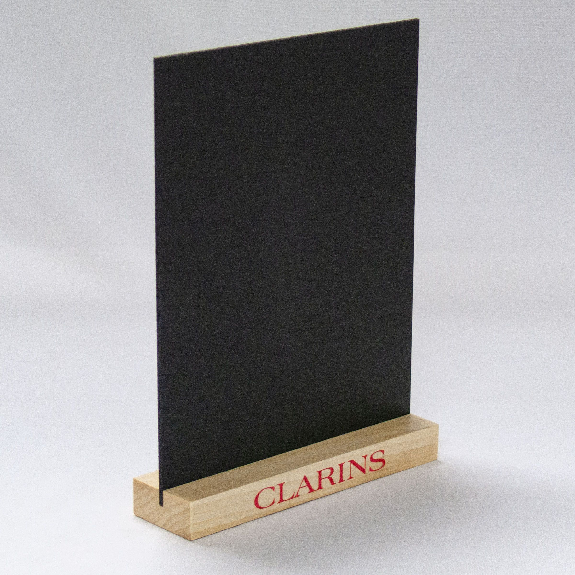 This Tabletop Sign Holder Can Support An 8 5x11 Sign Holder Or