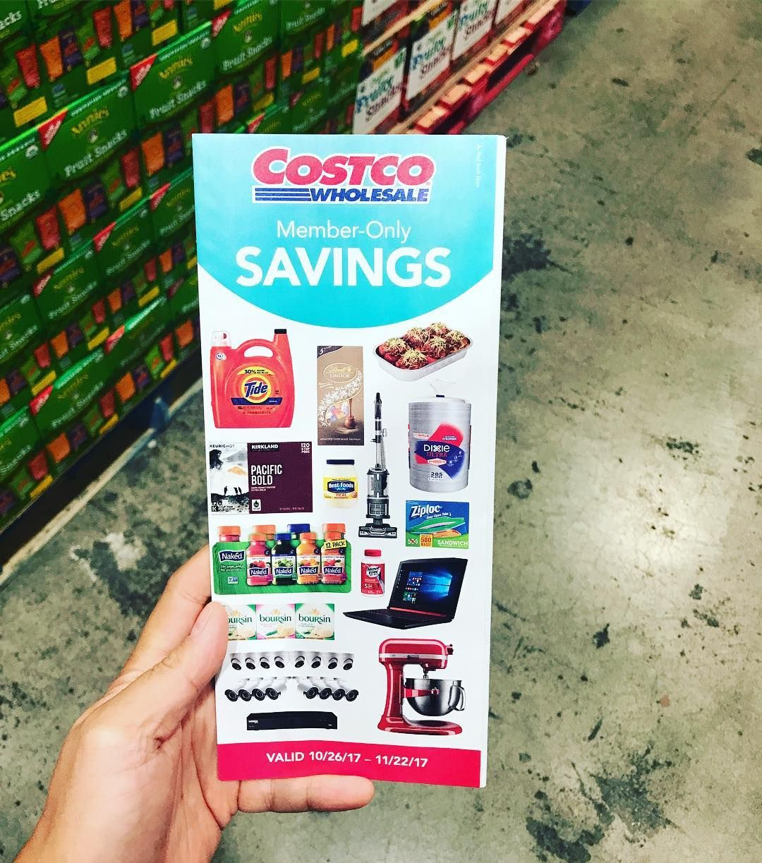 Let the shopping and savings begin costco membersonly