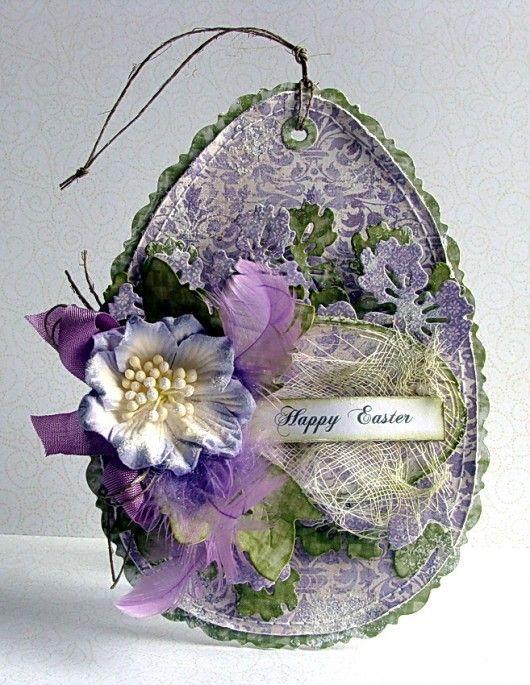 Wielkanocne Kartki Na Zamowienie Pakamera Pl Easter Tags Easter Cards Easter Crafts