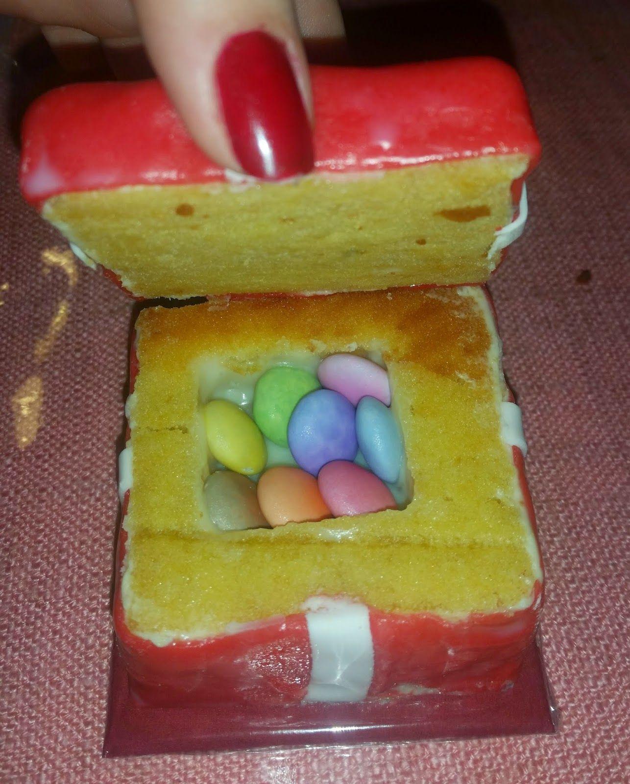 Sandy's Kitchendreams: Geschenk-Küchlein mit Überraschung