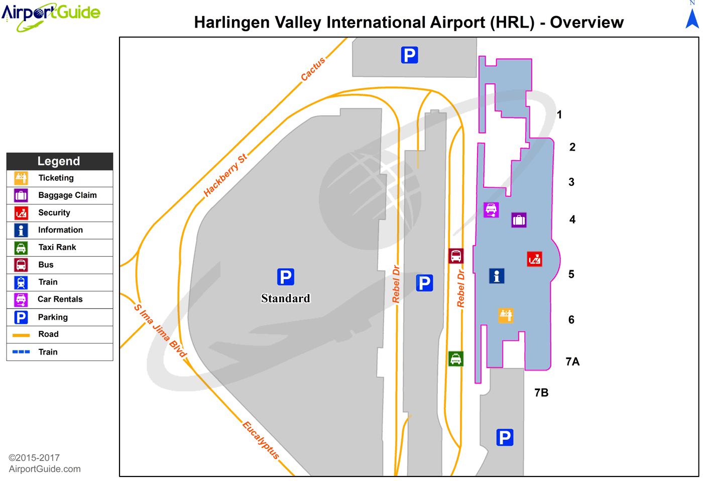 Harlingen Valley International (HRL) Airport Terminal