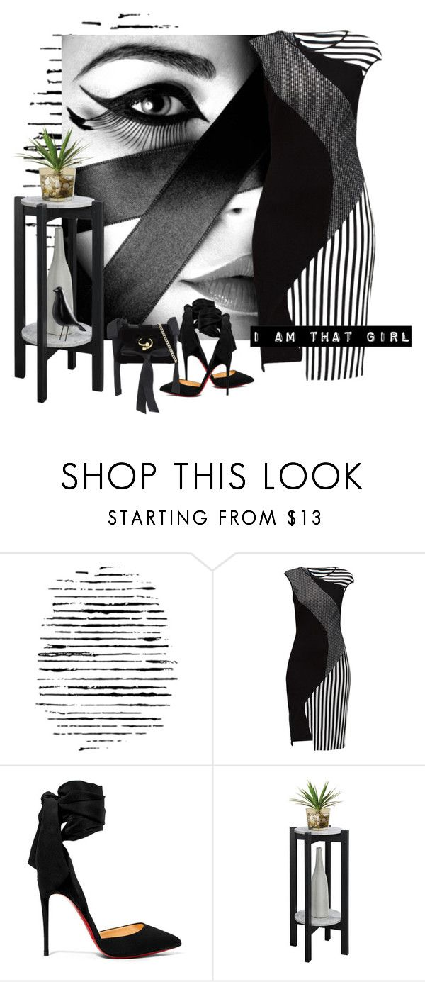 """""""I Am that Girl!"""" by sjk921 ❤ liked on Polyvore featuring Camp, GE, Lattori, Christian Louboutin, Convenience Concepts and J.W. Anderson"""