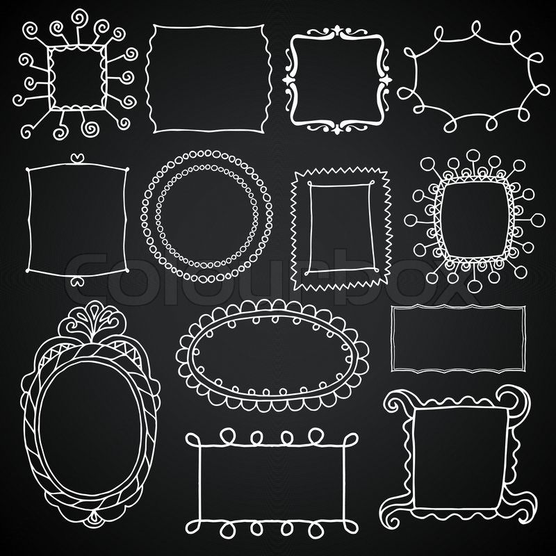 Chalkboard Frames And Banners Clipart Clip Art Chalkboard Clipart Clip Art Vectors Commercial And Personal Use Chalkboard Clipart Chalkboard Lettering Chalkboard Designs