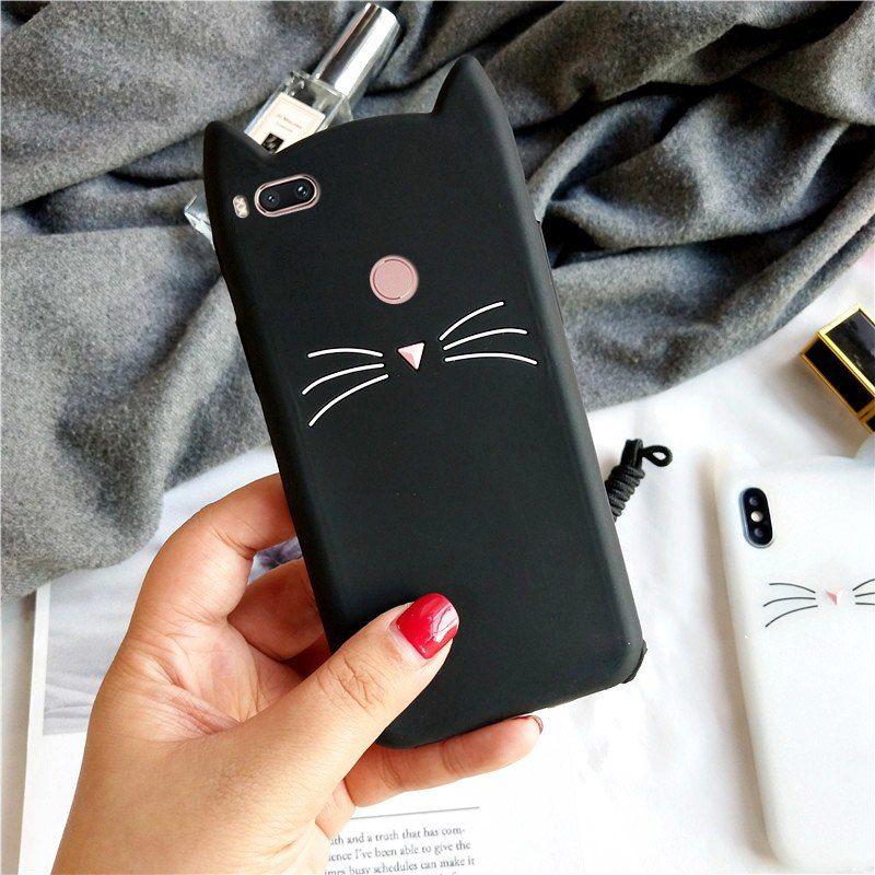 more photos 18497 c14f4 Online Shop Soinmy Mia1 Case 3D Cute Beard Cat Ears Case For Xiaomi ...