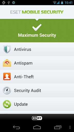 Now secure your Android Phone and Tablet with ESET Mobile