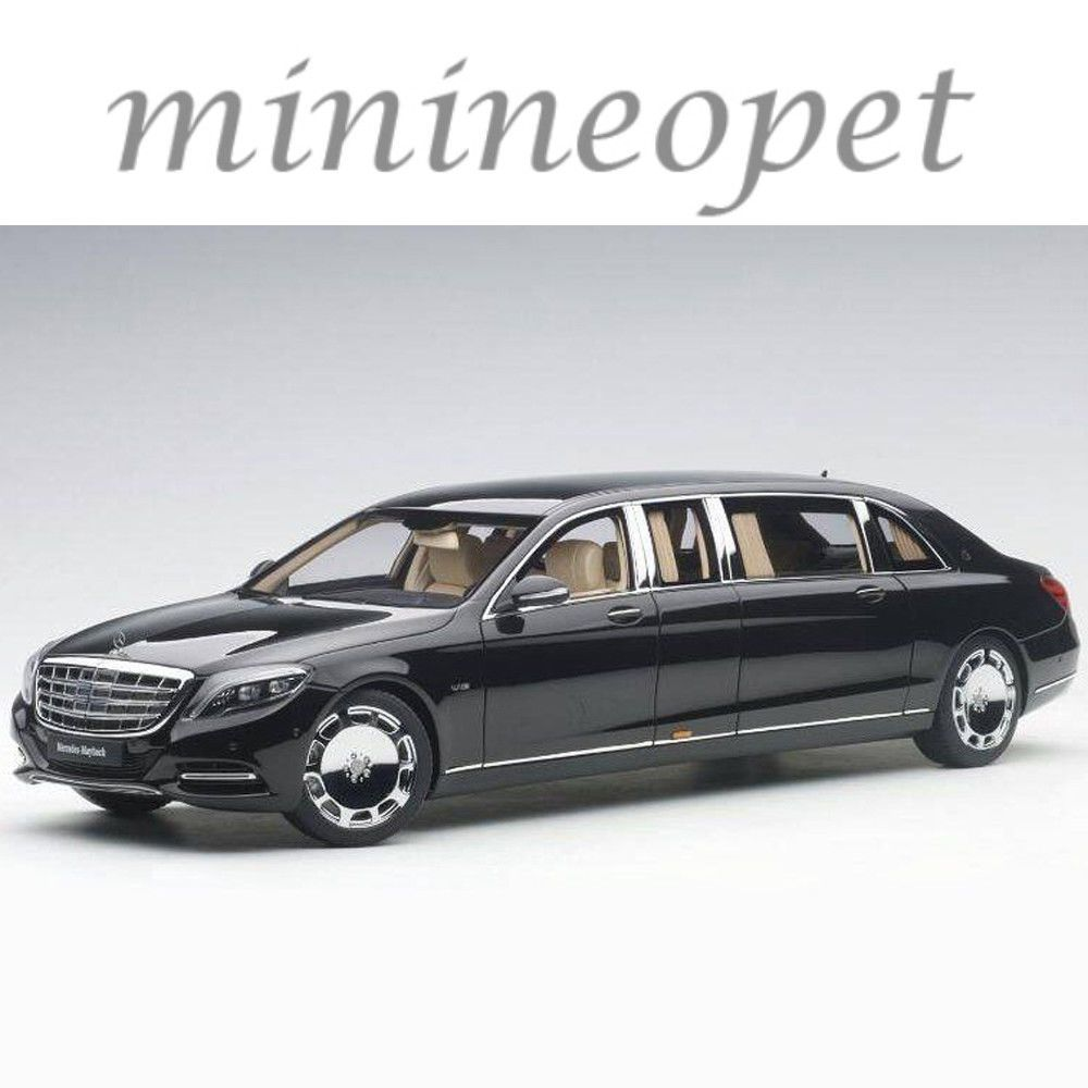 Cool Great AUTOart MERCEDES BENZ MAYBACH S PULLMAN LIMO - 1 million mercedes coolest armoured vehicle ever