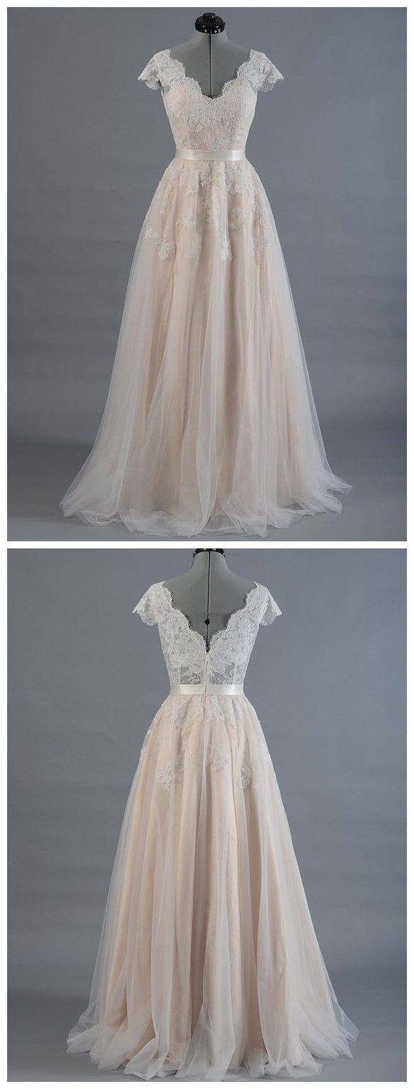 Wedding dresseslace prom dressillusion prom dressfashion prom