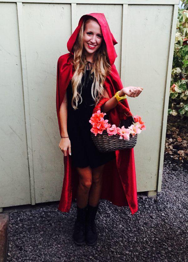 Diy Little Red Riding Hood Costume Costume Ideas Halloween