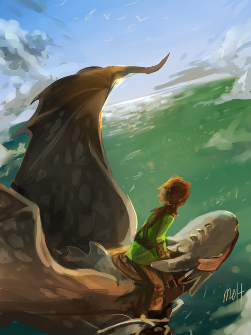 Hiccup And Toothless By Meltesh28 Httyd Fanart Pixar