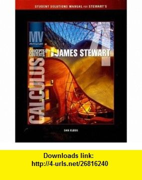 Student solutions manual for stewarts multivariable calculus student solutions manual for stewarts multivariable calculus concepts and contexts 4th 9780495560555 james fandeluxe Image collections