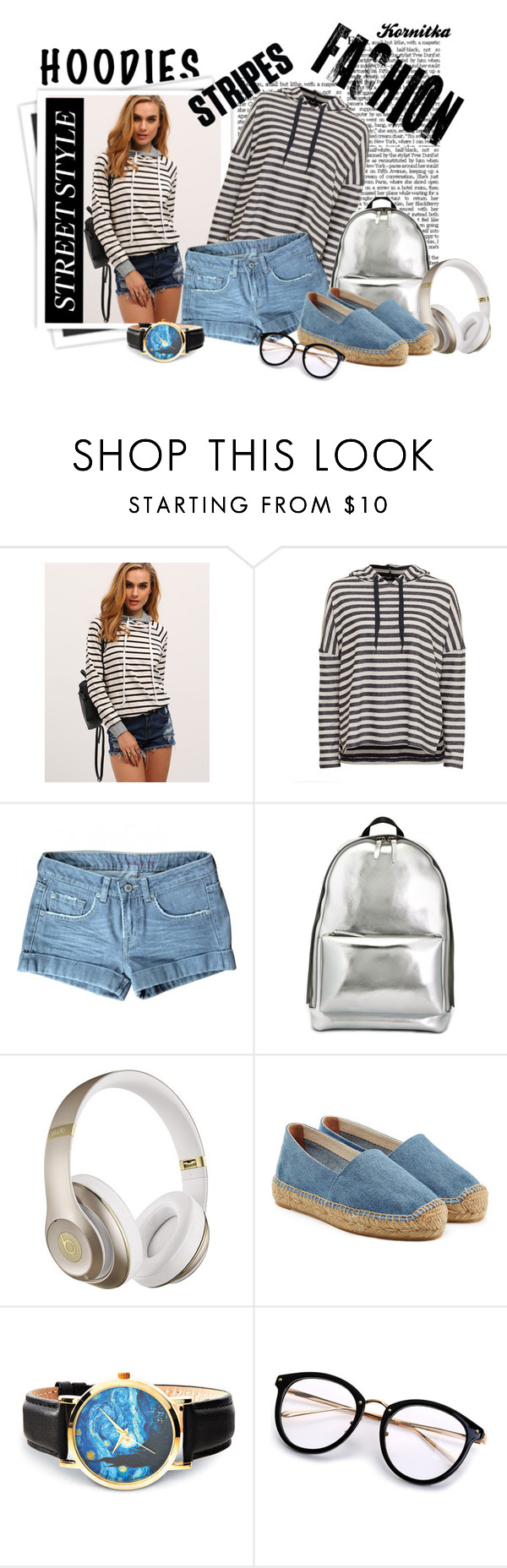 """hoodies"" by kornitka ❤ liked on Polyvore featuring GALA, Paul & Joe, 3.1 Phillip Lim, Beats by Dr. Dre and Castañer"
