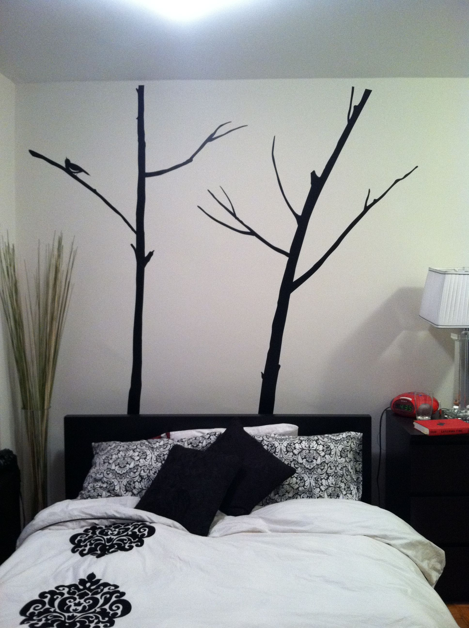 Finally Put Up My Tree Wall Decals For The Home Pinterest - How to put up a tree wall decal