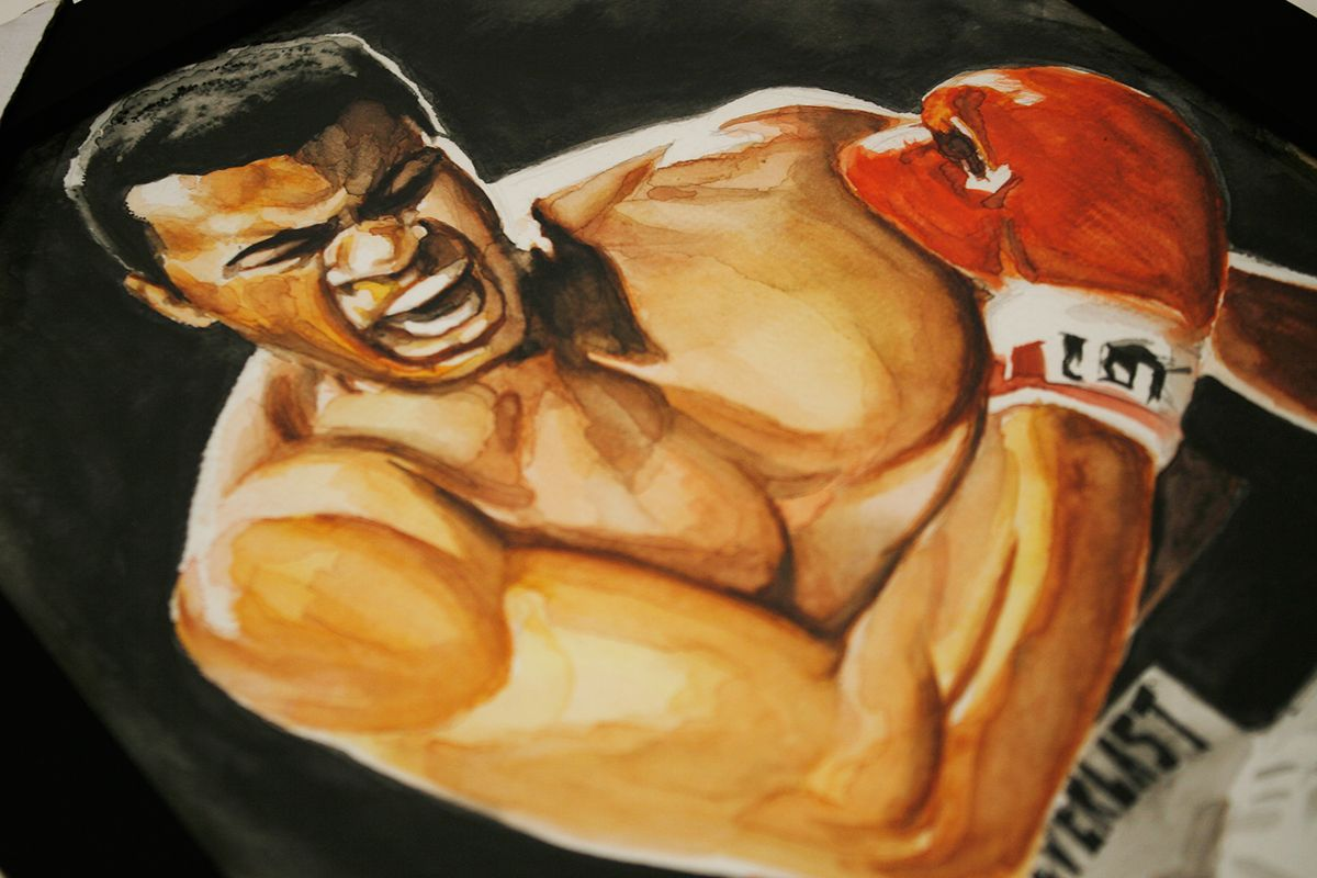 """Check out my @Behance project: """"Ali Watercolor""""…"""