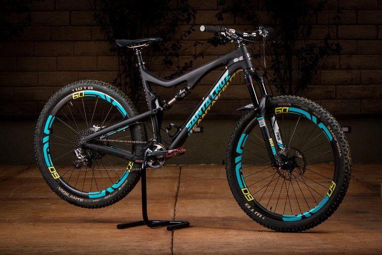 Custom Santa Cruz 5010 Troydon Murison S Bike Check Vital Mtb