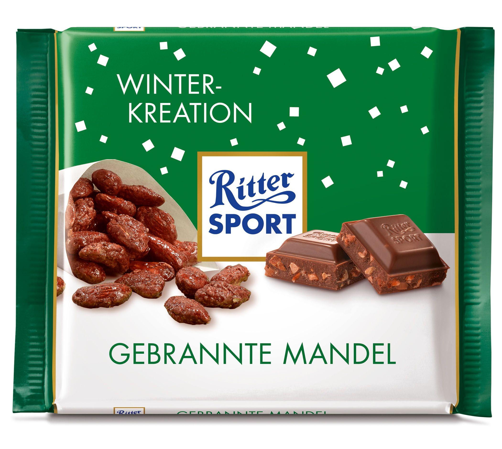 RITTER SPORT Gebrannte Mandel Ritter sport, Ritter