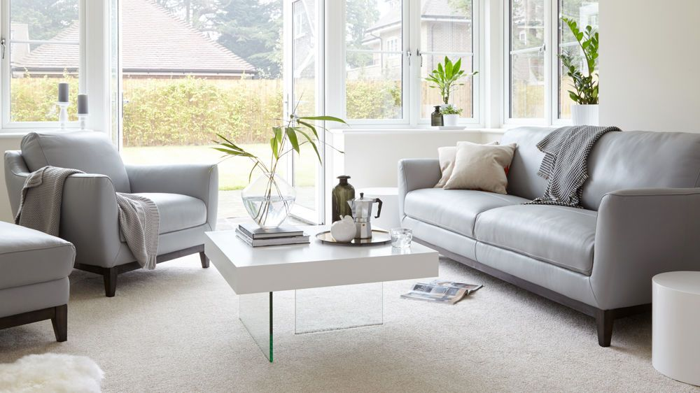 Modern Leather Three Seater Sofa Uk Delivery Leather Sofa Living Room White Leather Sofas Sofa Design