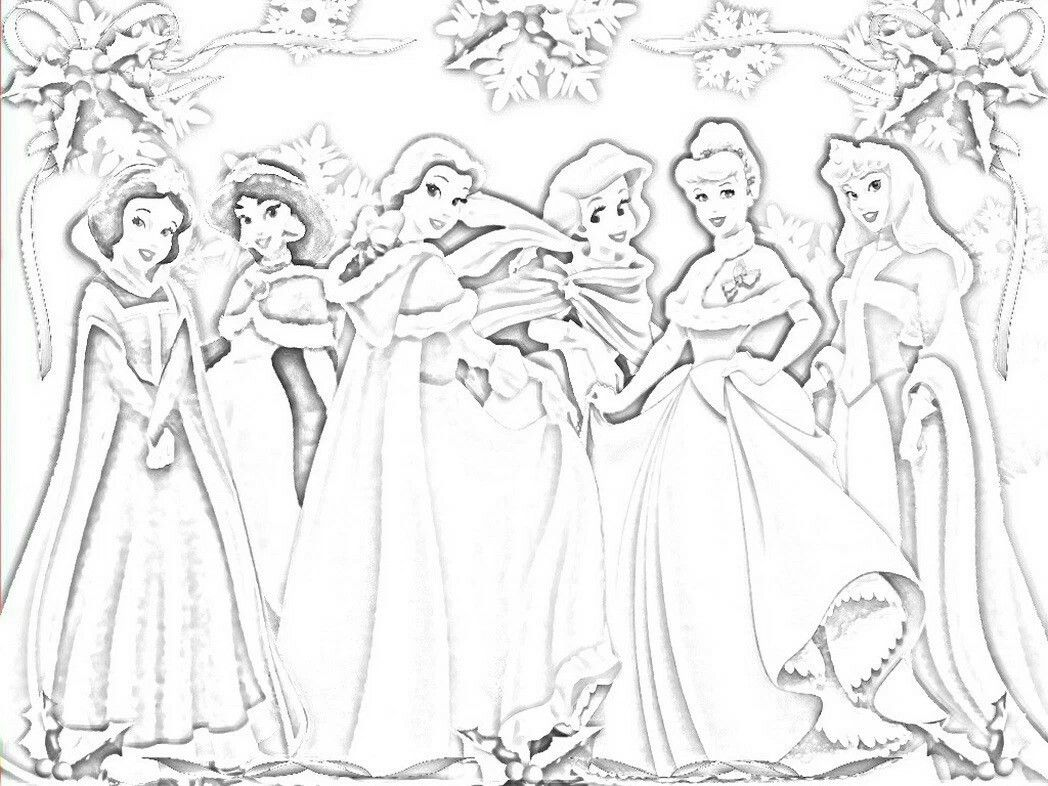 All disney princesses coloring pages - Non Disney Princess Coloring Book Princess Coloring Pages Non Disney All Disney Princess Coloring Pages