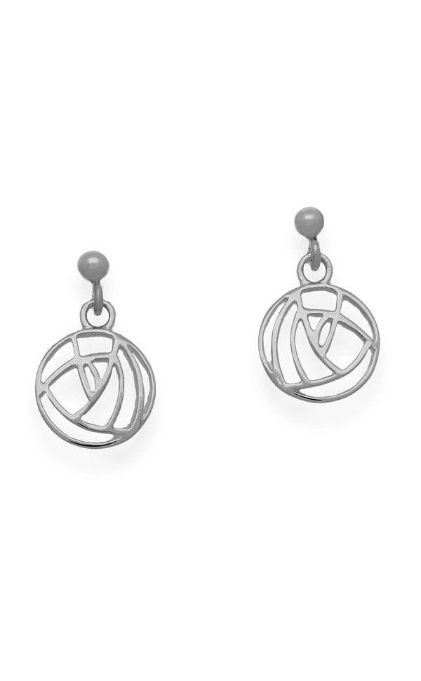 Charles Rennie Mackintosh Earrings E633 Jewellery Premium Scottish Quality Clan By Scotweb