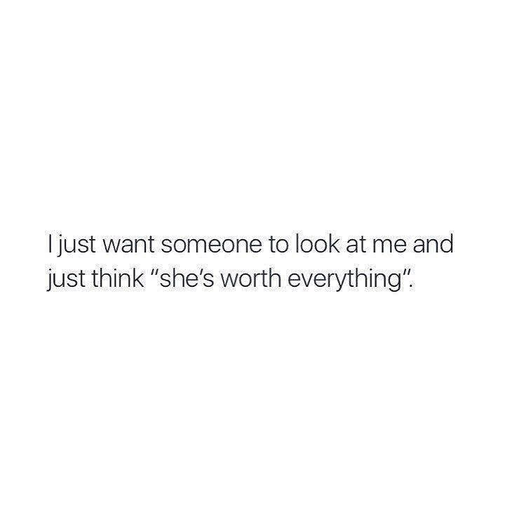 It isn't about someone or just anytime but it's about the ONE; the one I want to look at me that way.