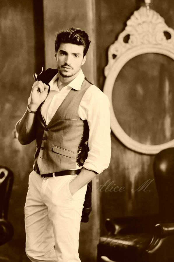 Mariano Di Vaio Vintage Photo ♡ | Mode homme, Style homme ...
