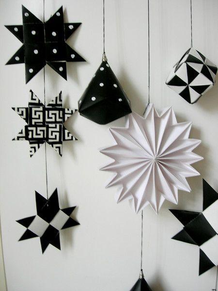 Muurdecoraties - Mobile van papier - Een uniek product van Doortje-Peperkamp op DaWanda