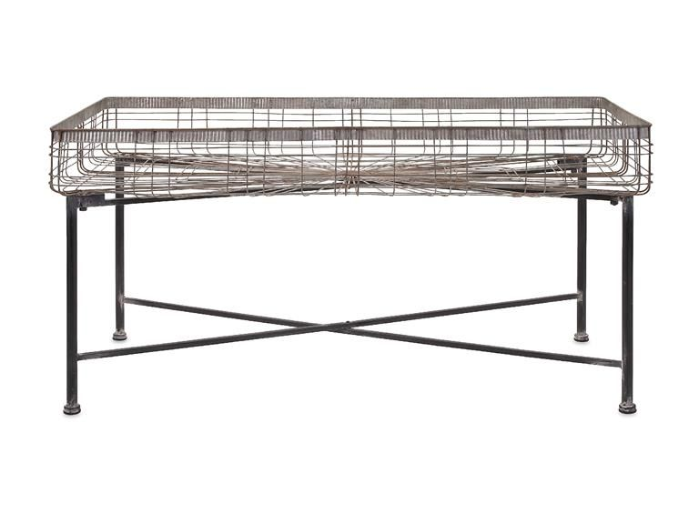 Imax corporation pitzer rectangle wire plant stand 65343