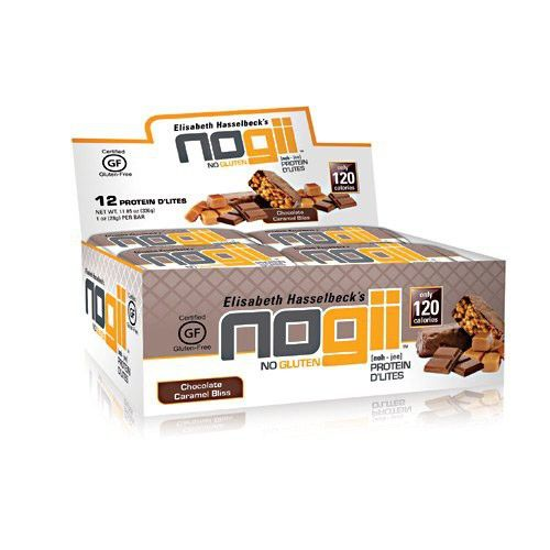 Nogii Protein D Lites Chocolate Caramel Bliss 12 1oz 28g Bars Gluten Free Bars Chocolate Caramel Gluten Protein
