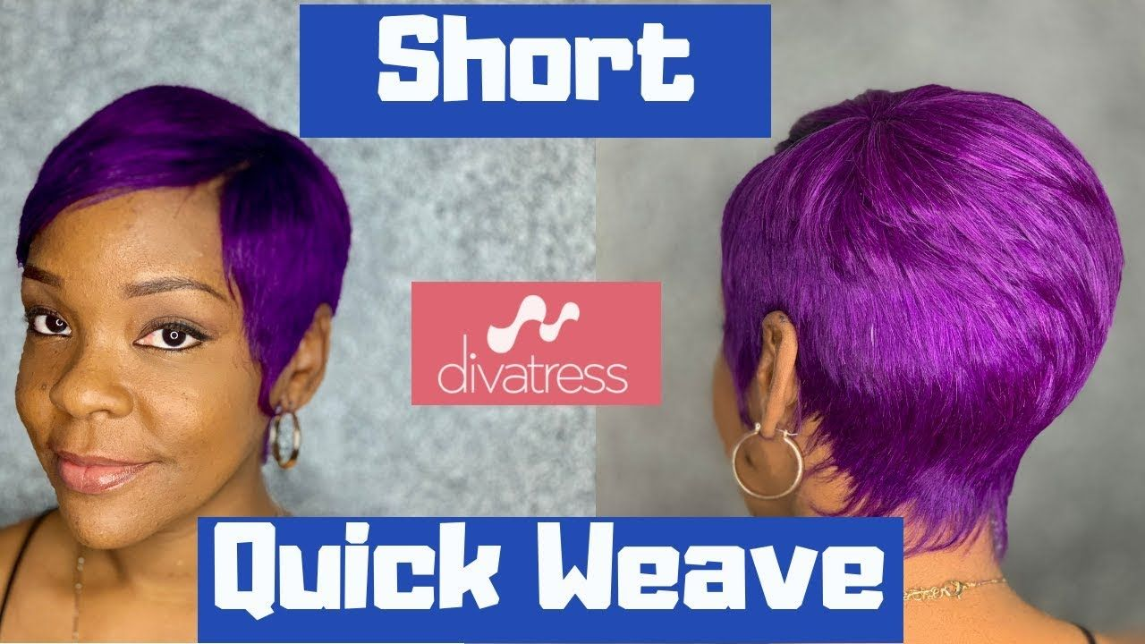 Milkyway 27 Piece From Divatress Short Quick Weave Milky Way Hair Review Youtube 27 Piece Hairstyles Quick Weave Short Quick Weave