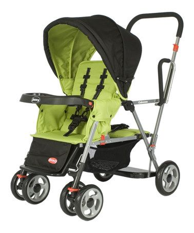 This Joovy caboose double stand-on stroller is the exact ...