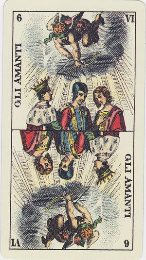 Tarot Genoves A Reproduction Of An Authentic Genovean