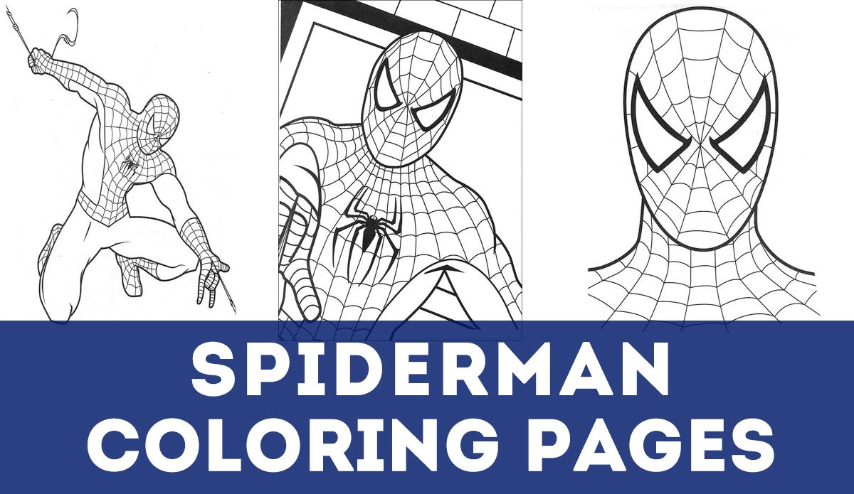Updated 100 Spiderman Coloring Pages September 2020 Spiderman Coloring Spiderman Christmas Spiderman