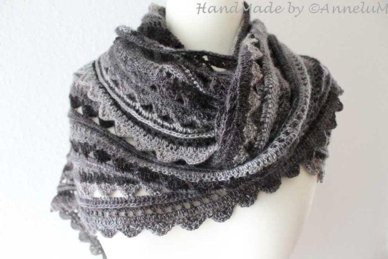 Das Halata Als Dreiecktuch Annelum Häkeln Pinterest Crochet