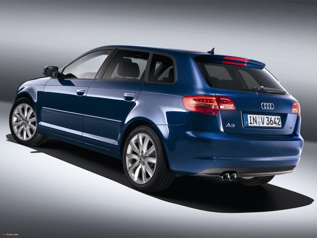 Audi A3 Sportback TDI 8PA (2010) Voiture