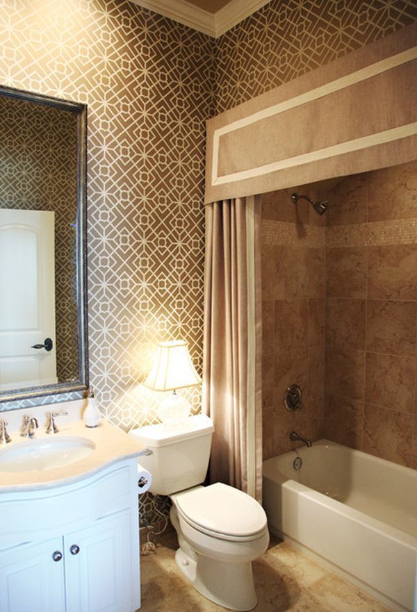 Sophisticated Shower Curtains | Toilet, Washroom and Powder room