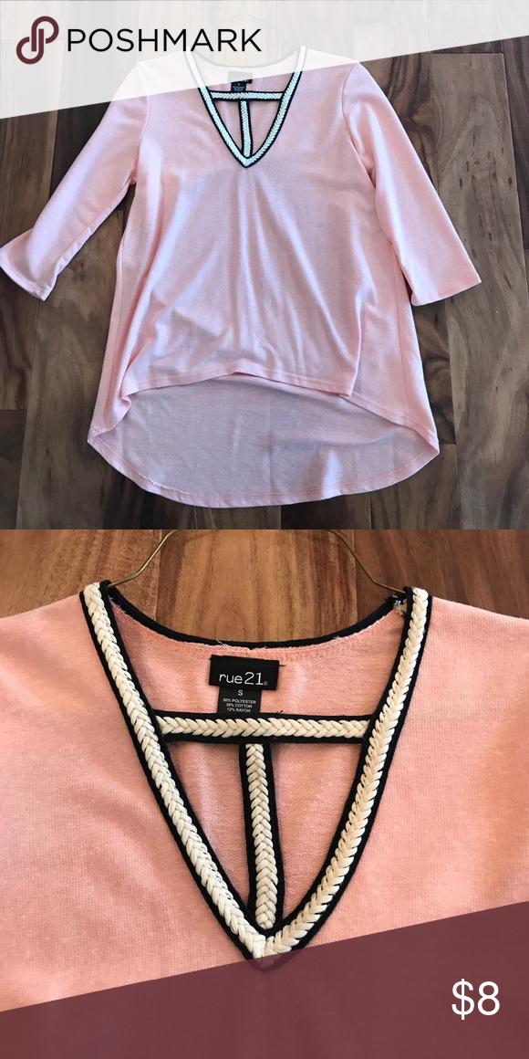 NWOT crochet v-neck shirt NWOT crochet v-neck shirt. Super cute! Tops
