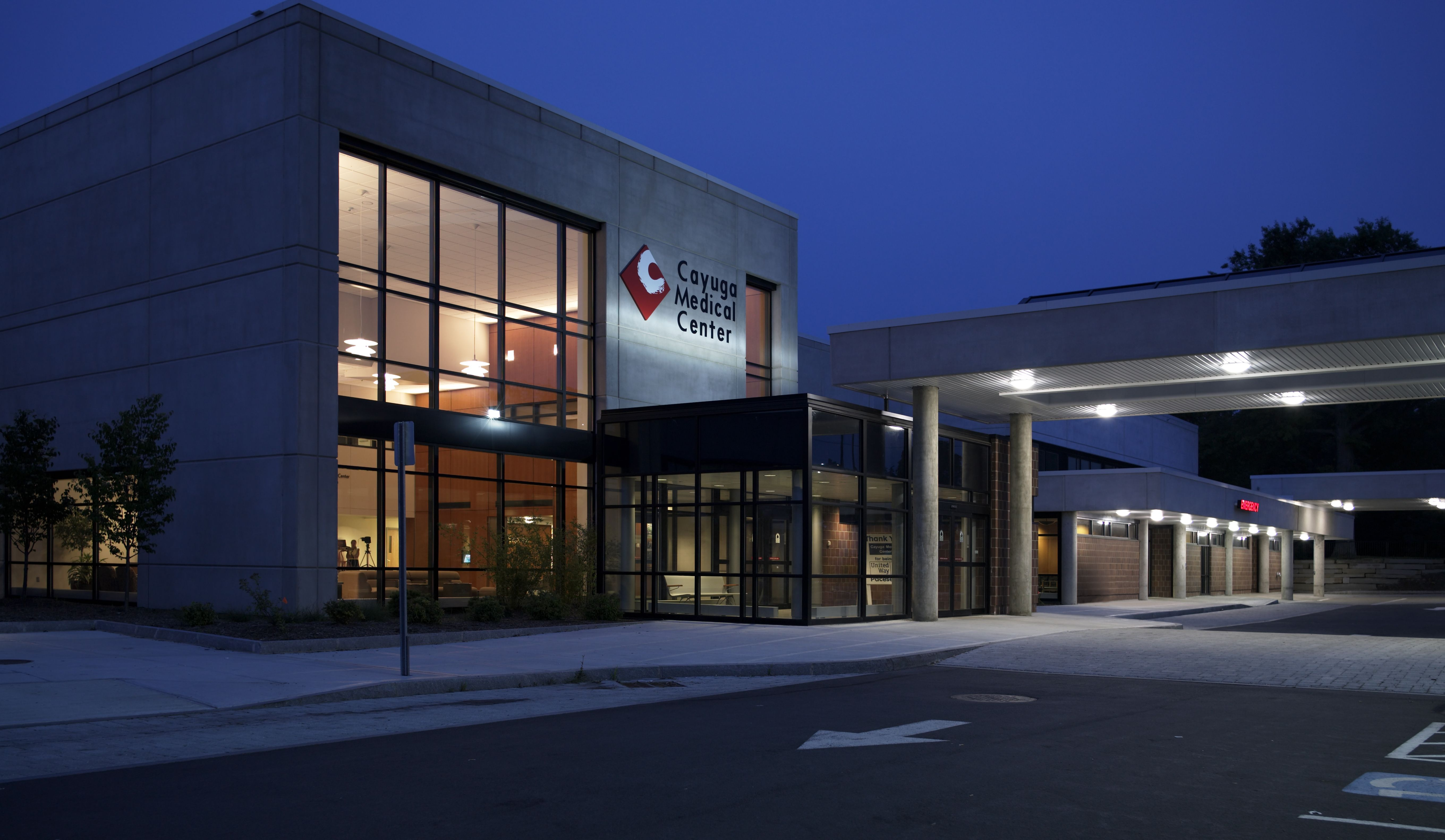 Cayuga medical centers southwest addition is the first