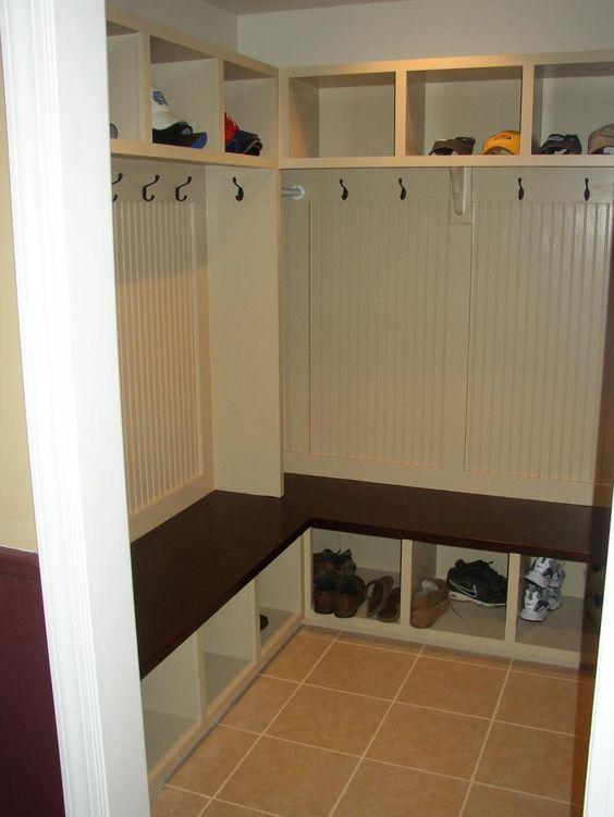 Small Corner Mudroom On Pinterest Lockers Mud Rooms And Corner Small Mudroom Ideas Mud Room Storage Mudroom Organization