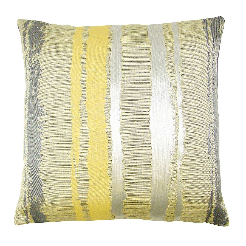 Margo Ochre Stripe Cushion Cover | Striped cushions ...