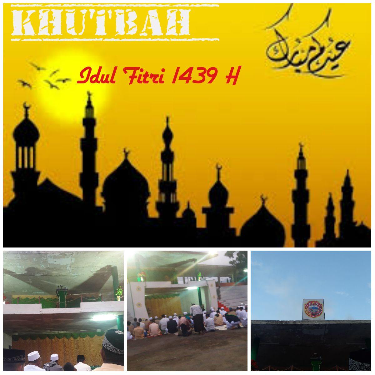 Ceramah Idul Fitri 1439 H Di Lapangan Pancasila Kota Ende