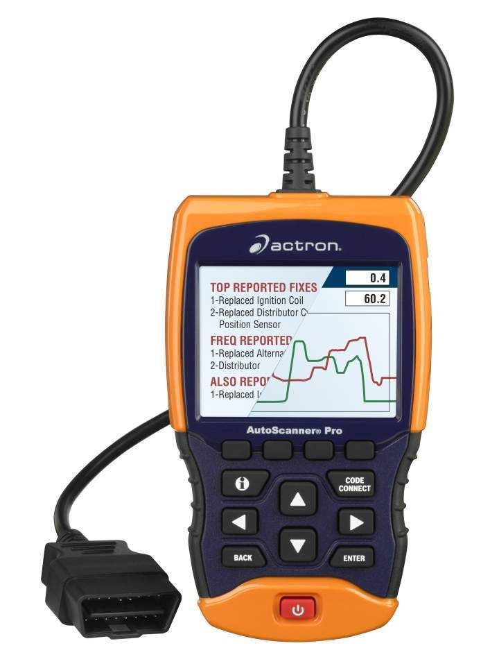 Actron autoscanner pro cp9695 obdii scan tool 1996up