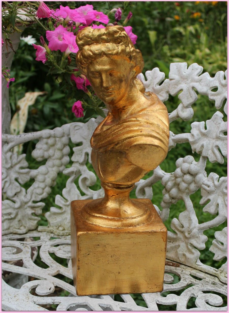Vintage italian bust apollo orig tag new old stock from an