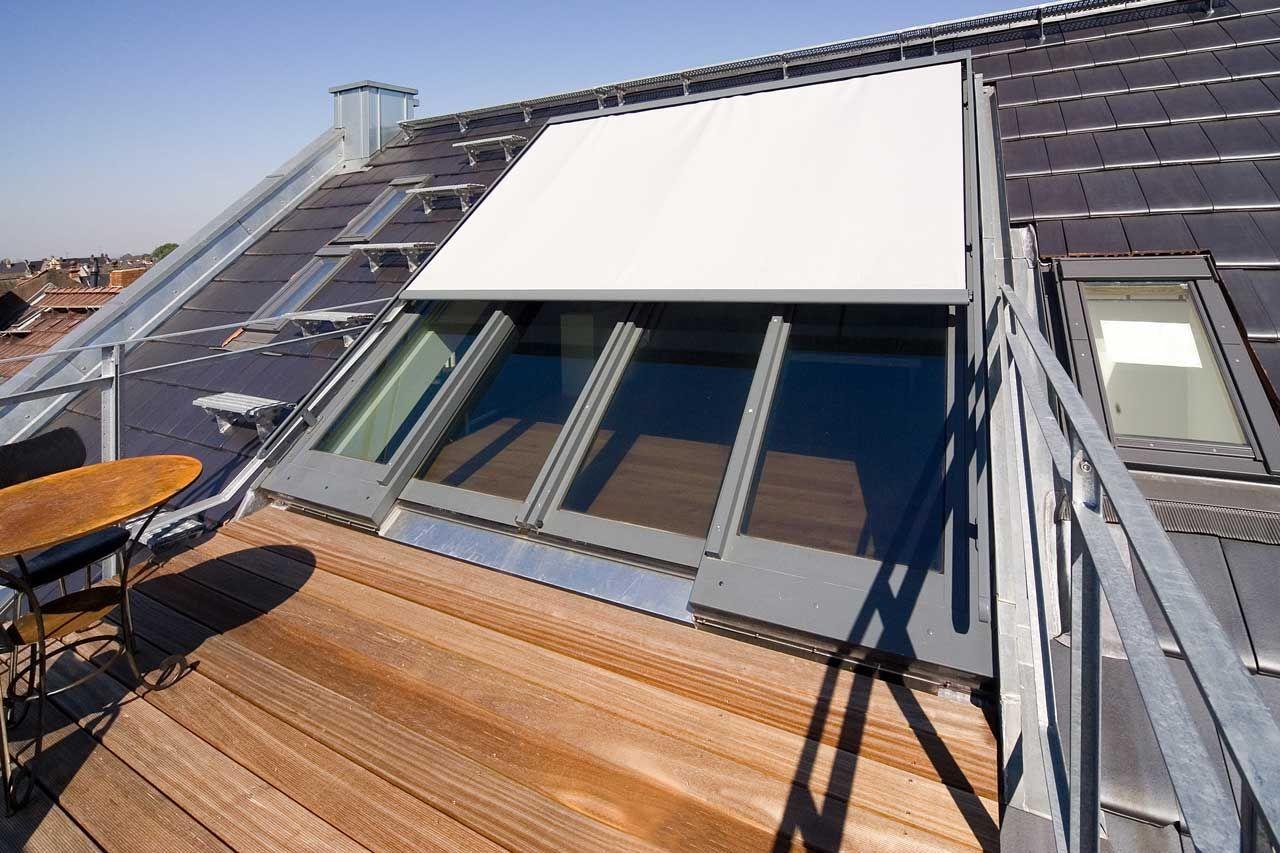 dachfenster (verschattung) balkon eine moglichkeit? | remodel ideas