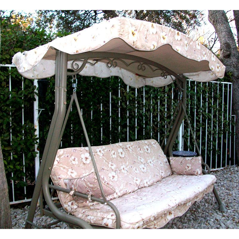 + to replace the canopy on my backyard swing ( & Walmart courtyard creations arched canopy swing replacement canopy ...