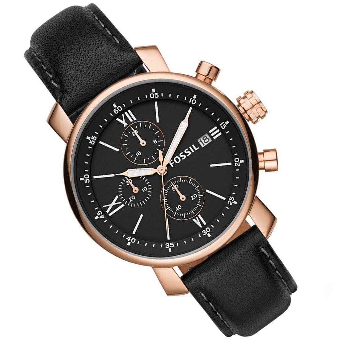 BQ1008 Fossil Rhett Chronograph Male Watch in 2020
