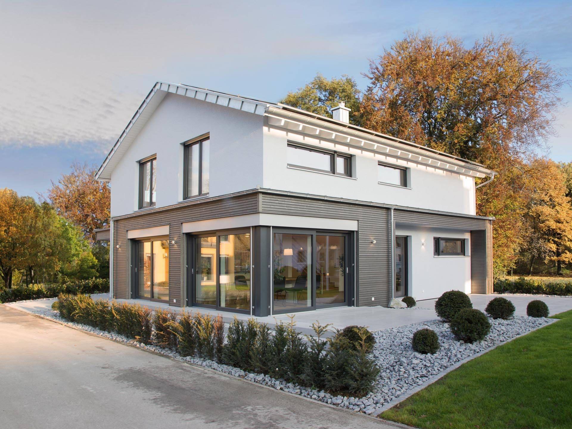 Musterhaus ulm musterhaus von fertighaus weiss for Hausbau raumplanung