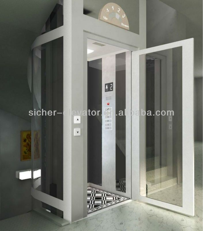Small residential home elevator lift price manufacturer for Elevators home