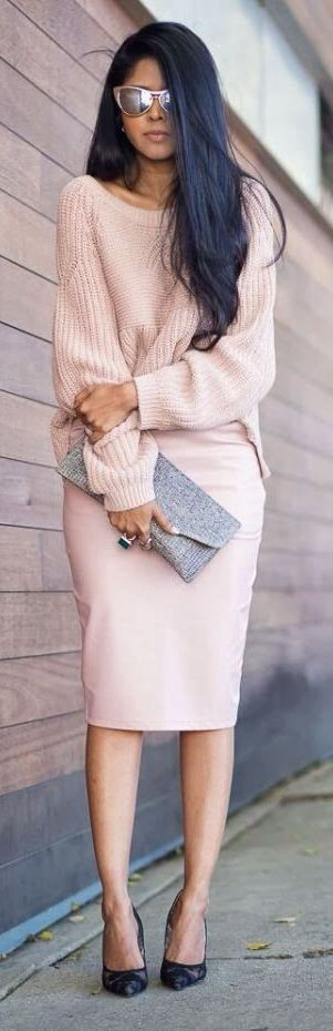 All pink style