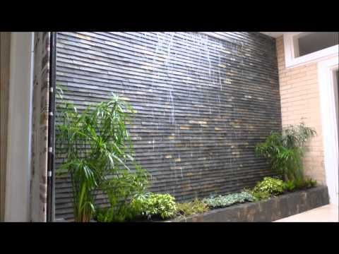 Cascada De Pared Youtube Proyectos Que Debo Intentar