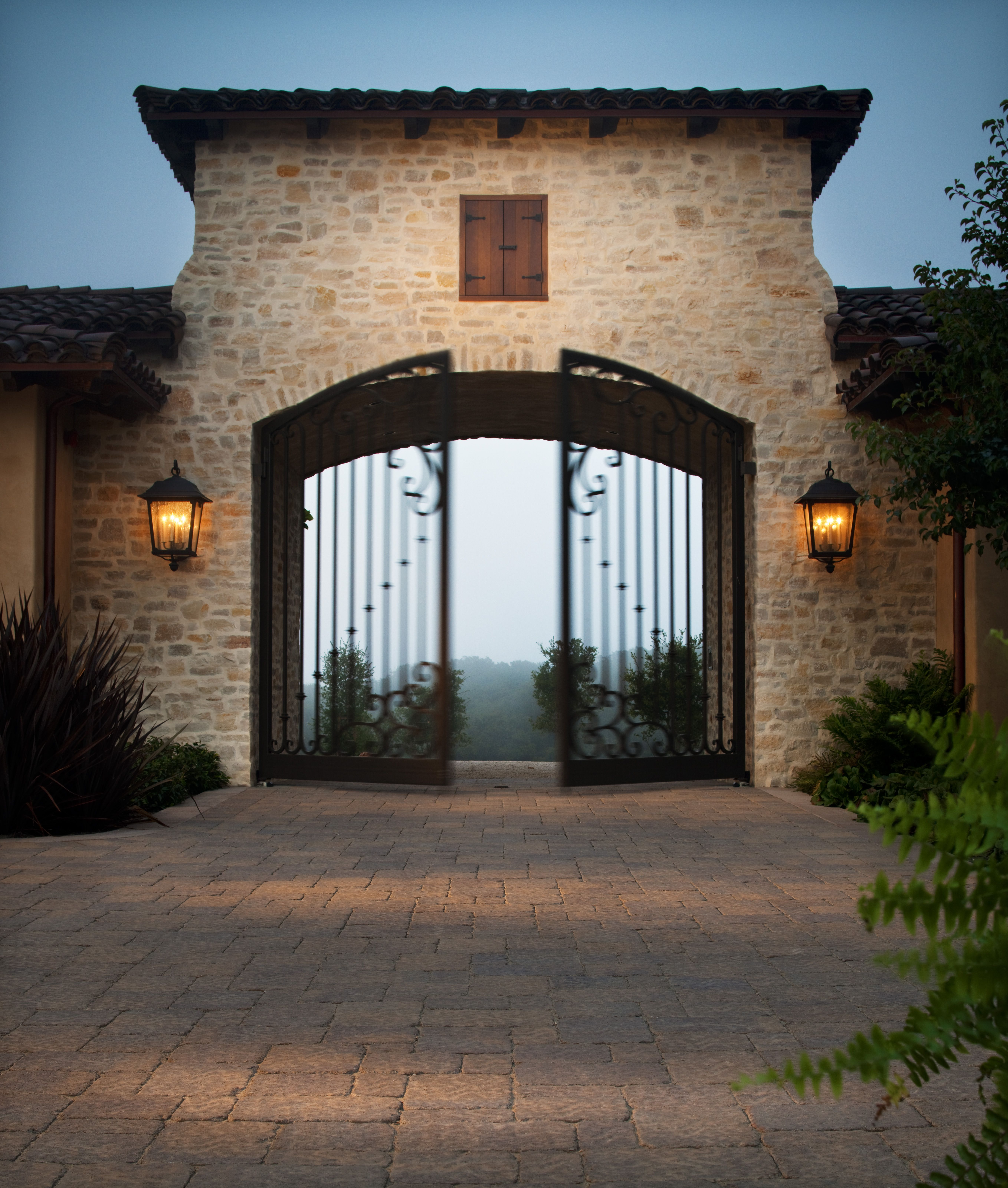 Make every entrance grand with a beautiful driveway for Grand entrances