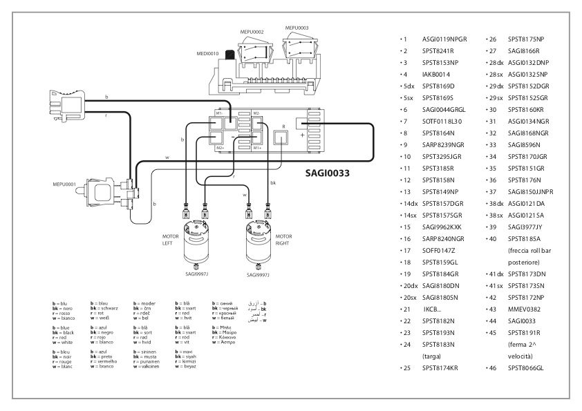 Parts Schematic And Parts List Wiring Diagram And Electrical Parts ...